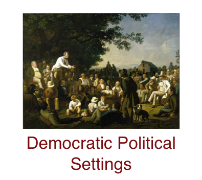 democratic-political-settings