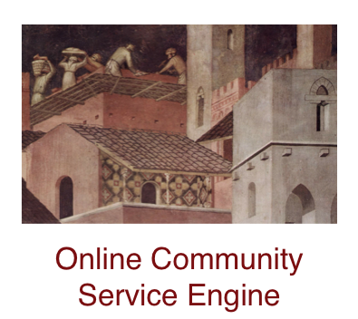 online-community-service-engine